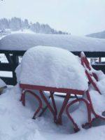 Premières neiges de l'hiver 2016/2017