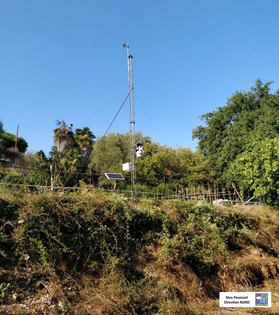 Nouvelle installation de la station météo de Nice-Pessicart (Davis Vantage Pro 2)